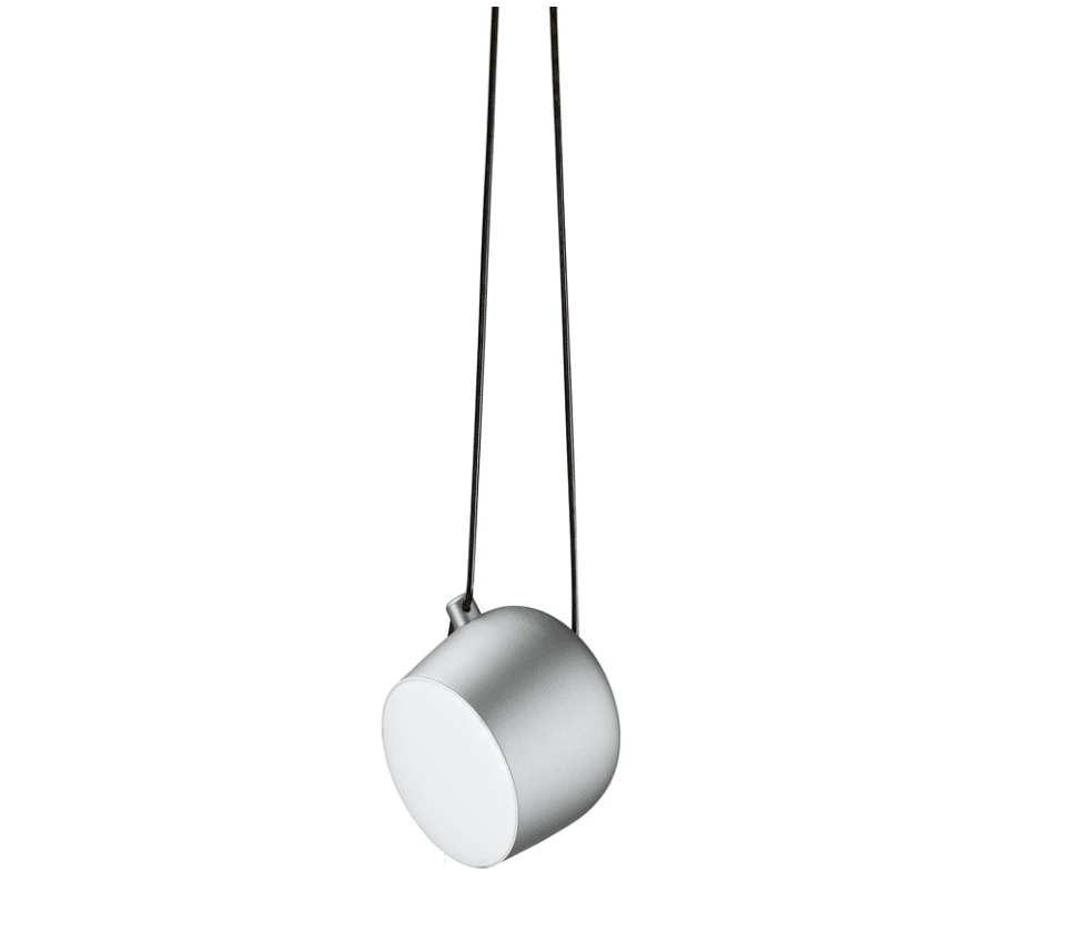 Flos Aim light silver anodized