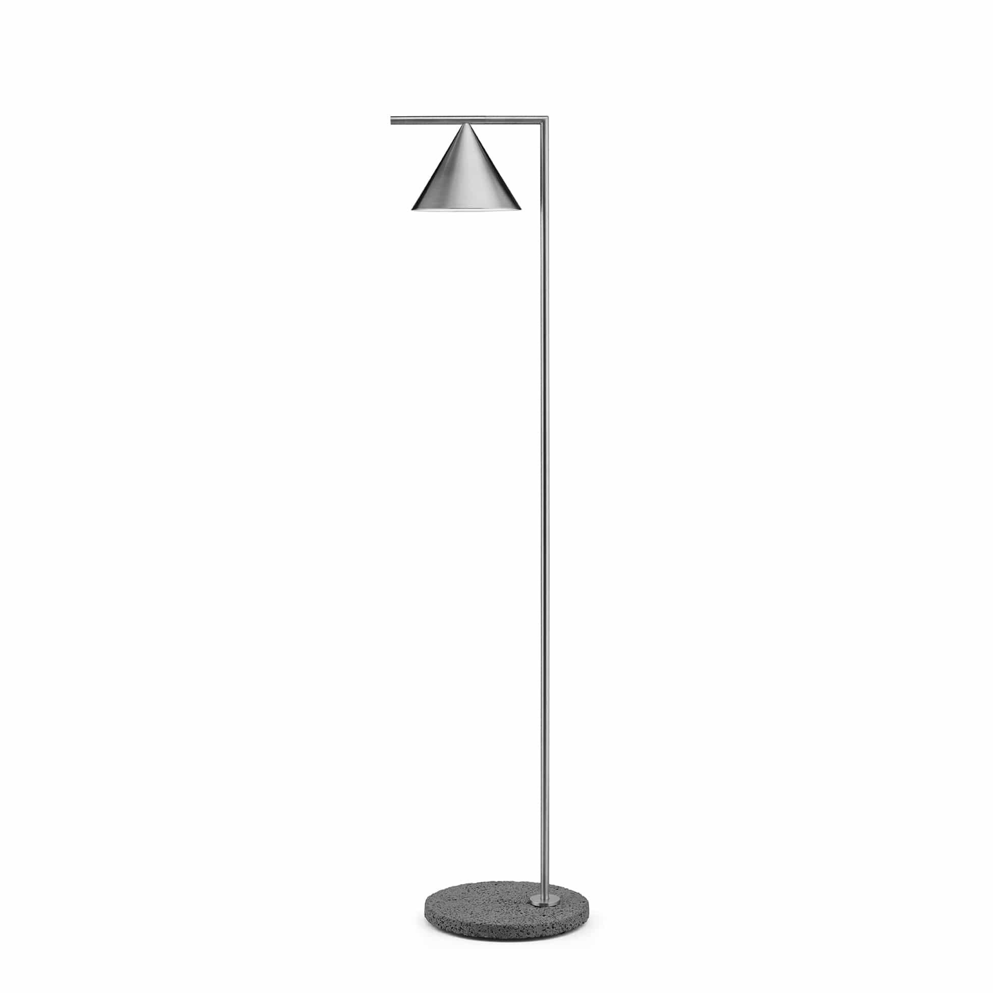 Flos Captain Flint brushed stainless steel - occhio di Pernice