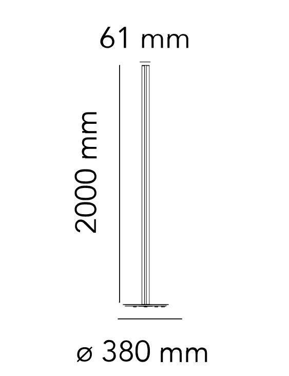 Flos Coordinates F Skizze