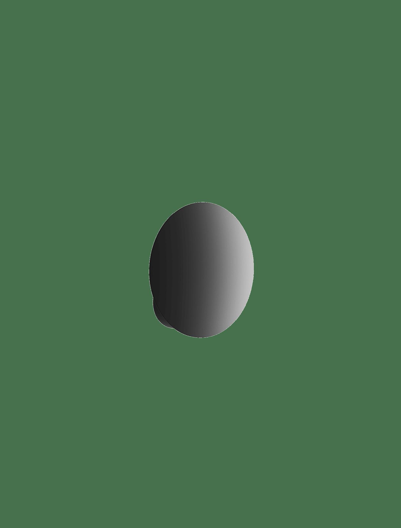 Puzzle Single Round weiß