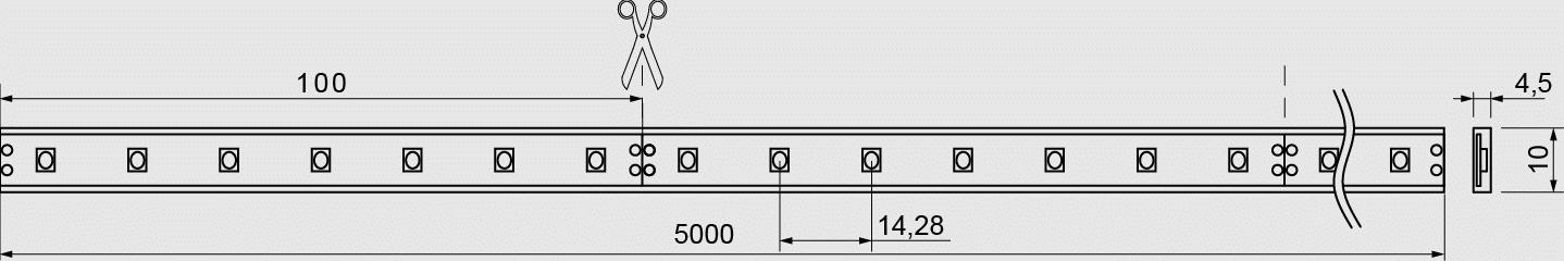 QX II Nature 5000mm 4,8W Skizze